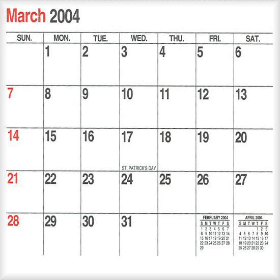 March 2004